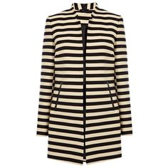 Oasis Stripe Coat:: High Street New in Store: July 2013