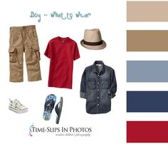 What to Wear for boys in photos