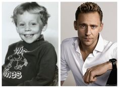 Four year old Tom is so adorable (so is thirty five year old Tom, but that's not the point)