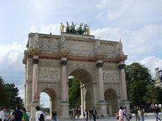 The Arc de Triomphe du Carrousel in Paris - France