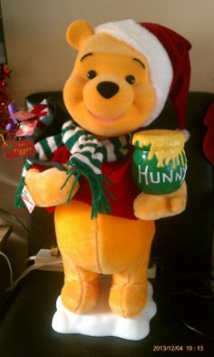 merry christmas winnie the pooh - Winnie The Pooh Christmas Decorations