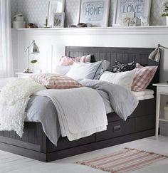 bedroom and decor afbeelding