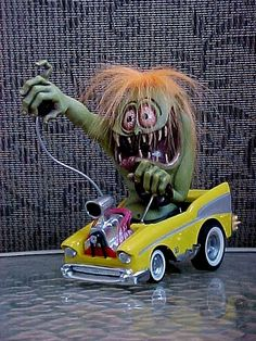 Ed Roth Monster Models | Weldon Finkster's IncredibleModels !!!