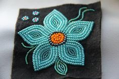 Native Beading Patterns, Bead Embroidery Patterns, Beadwork Designs, Bead Loom Patterns, Beaded Jewelry Patterns, Beaded Embroidery, Indian Beadwork, Native Beadwork, Native American Beadwork
