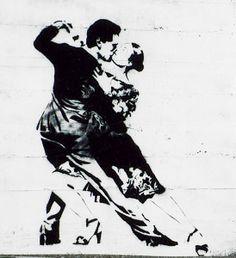 Blek le Rat 'Last Tango in Paris' Street Art