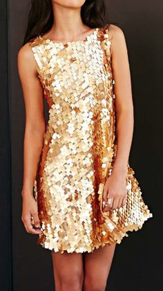 gorgeous gold sequin dress  http://rstyle.me/n/tdgcapdpe