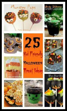 25 Fun Kid Friendly Halloween Treat Ideas