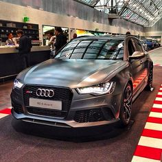 New Audi- Audi RS6 Avant! Okay its not a 911 but I can easily take the children for a ride :-) And the dog, if we would have one....