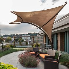 Tensile Shade Products, LLC is a producer of pre-engineered tensile sculpture products. Our line of tensile sculpture products include Sunbird, Sunbow, Sunami and Eclipse. Membrane Structure, Shade Structure, Patio Canopy, Canopy Outdoor, Tent Design, Roof Design, Patio Sails, Outdoor Shade, Back Patio