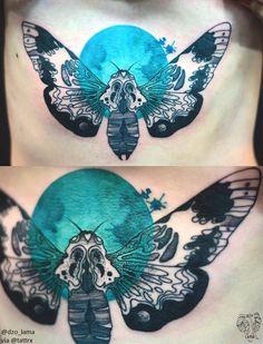 Image and design © Joanna Świrska Poland / Germany / Scotland Dream Tattoos, Love Tattoos, Beautiful Tattoos, Body Art Tattoos, New Tattoos, Tatoos, Amazing Tattoos, Insect Tattoo, Moth Tattoo