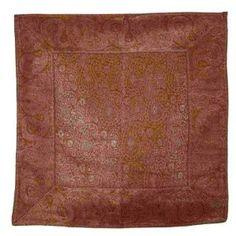 Christmas gift home decor Indian silk cushion covers 40 cm x 40: Amazon.de: Kitchen & Home