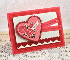 True Love Engagement Card by Dawn McVey for Papertrey Ink (December 2012)