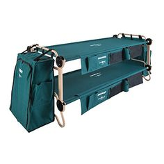 Disc-O-Bed Cam-O Bunk Combo with 2 Organizers, 1 Footlocker and 1 Cabinet, X-Large *** Want to know more, click on the image.