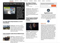 Aviation news and information covering the latest events in aircraft development, avionics, aviation accidents and all things pilot-related twice daily. See aviation forum topic updates, discuss historic, modern military, commercial and general aviation. Review and access a complete selection of top quality aviation products which are competitively priced and shipped the same day. From the travel and leisure sector compare cheap airline tickets, airfares, hotel rooms and rates, travel deals…