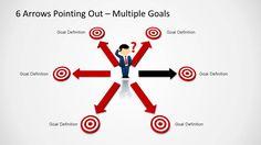 content marketing matrix powerpoint template | content marketing, Presentation templates