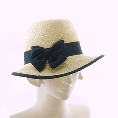 Straw Fedora Sun Hat for Women Natural Panama by TheMillineryShop