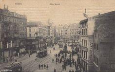 Poznań ( Poland) Stary Rynek ( Old Market) 1909