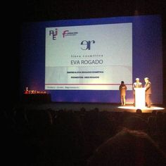 Premios AJE Asturias 2014 AJE Joven Empresario Eva Rogado