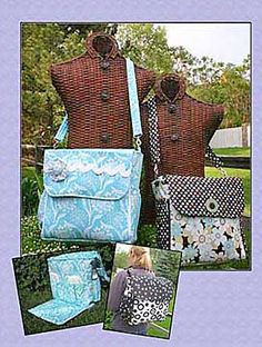 Classic For Moms Diaper Bag Pattern by WhistlePig Creek Productions