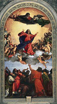 Imagen Asunción de María de Tiziano.