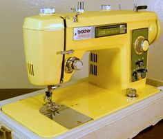 Vintage Brother Galaxie 221 Sewing Machine - Fully Serviced/Guaranteed