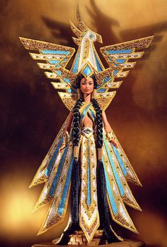 Fantasy Goddess of the Americas™ Barbie® Doll. Released in 2000. No longer available from Mattel.