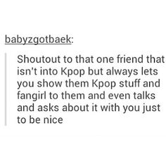 And for enduring all of my squealing and wailing for kdramas too