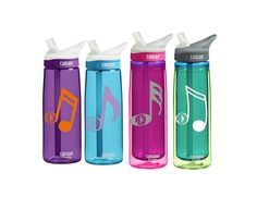 Music Note CamelBak 0.75 Eddy 20 ounce by SmittenInAMitten on Etsy