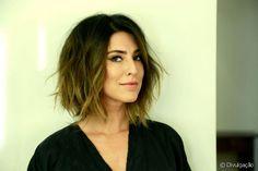 A atriz Fernanda Paes Leme mudou o visual para um novo projeto profissional e o…