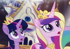 #1491884 - alicorn, my little pony: the movie, princess cadance, princess celestia, safe, sdcc, sdcc 2017, spoiler:my little pony movie, twilight sparkle, twilight sparkle (alicorn) - Derpibooru - My Little Pony: Friendship is Magic Imageboard