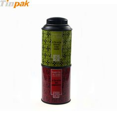 This coffee tin can is in 4-piece structure with a stackable lid and special base. http://www.tinpak.us/Products/Wholesaleacoffeetincan.html