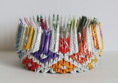 Upcycled Tea Wraps Into Miniature Origami Masterpieces | Green Prophet