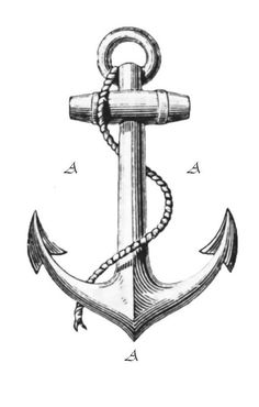 anchor tattoo | Tumblr I want one like this but on a broken chain