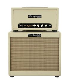 Winfield Cyclone Amplifier Head and 1X12 Cabinet Blonde | Rainbow Guitars