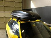 2003 Mazda Protege 5 with Q System, ski rack and Rocketbox Pro 11 Mazda Protege 5, Ski Rack, Skiing, Ski