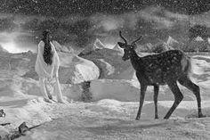 From Marian Goodman Gallery, Yang Fudong, Yejiang/The Nightman Cometh 4 Black and white inkjet print, 120 × 180 cm Shanghai, Bbc, John Mcdonald, Appropriation Art, Internet Art, New Media Art, Feminist Art, Contemporary Photographers, Animal Decor