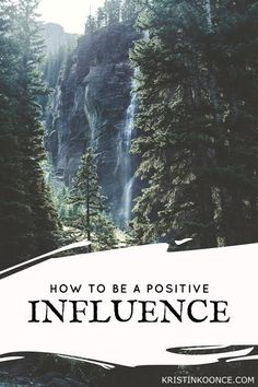 Are you a negative or a positive influence? In this post, I talk about the importance of making sure the mark we leave on the lives of others is a positive one. Click through to learn how to be a positive influence!