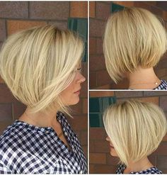 Short Blonde Bob Pics You Have to See | Bob Hairstyles 2015 - Short Hairstyles for Women