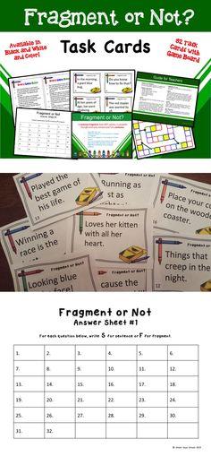 Sentence Fragment Ta