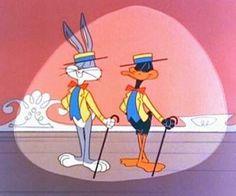 Image - Bugs bunny and daffy duck warner bros. Looney Toons, Looney Tunes Cartoons, Retro Cartoons, Old Cartoons, Classic Cartoons, Vintage Cartoon, Animated Cartoons, Vintage Tv, Daffy Duck