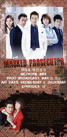 Teaser 1: Masked Prosecutor - Trailers - Watch Full Episodes Free - Korea - Viki