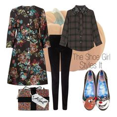 """The Shoe Girl Styles It: Irregular Choice Lucifer & Gus 3"" by pinkhairedprincess ❤ liked on Polyvore featuring Jigsaw, Irregular Choice, Ted Baker, Karl Lagerfeld, Marc Jacobs and theshoegirlstylesit"