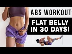 Chloe Ting - 10 Mins Abs Workout To Get Flat Belly In 30 Days. This is a 10 mins intense abs workout that will help you get that flat belly and toned abs. 10 Min Ab Workout, Intense Ab Workout, Workout For Flat Stomach, Abs Workout Routines, Belly Fat Workout, Workout Challenge, Flat Abs, Flat Tummy, Butt Workout