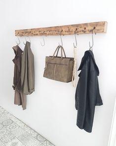 DIY Kapstok Hall Wardrobe, Wardrobe Rack, Sas Entree, Ikea, Contemporary Classic, Diy Network, House Entrance, Industrial, My Dream Home