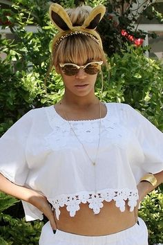 d080ca35ac Wildfox Sunwear Crybaby Deluxe Frame in Gold Beyonce Style