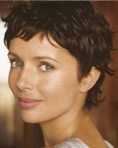Very Short Pixie with Waves