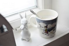 Winter Moomin Mugs, Tableware, Winter, Beautiful, Winter Time, Dinnerware, Dishes