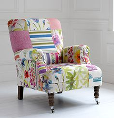 Game Country Patchwork Chair- Voyage Maison Furniture