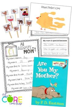 Are You My Mother? Mother's Day activities and more!