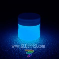 GLO Effex Phosphorescent Glow in the dark paint is a transparent when dry acrylic water based paint that when charged with light can glow for hours. Goes on milky white and dr Ultraviolet Color, Nail Polish Jewelry, Glow Paint, Game Pieces, Art Model, Fishing Tips, Ultra Violet, Halloween Crafts, Body Painting